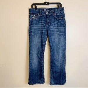 Kut jeans straight leg size 10